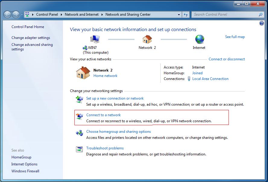Настройка L2TP/IPSec VPN-соединения на Windows 7