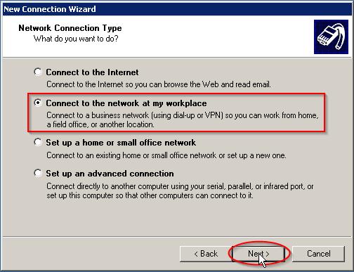 Configuring L2TP/IPSec VPN connection on Windows XP